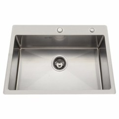 Single Bowl Stainless Kitchen Sink And Faucet Sets Hot Sell Industrial Wash Basin Steel Bathroom Upc