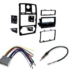 2005 07 chrysler 300 car stereo install mounting kit wire harness and radio antenna [ 1000 x 1000 Pixel ]