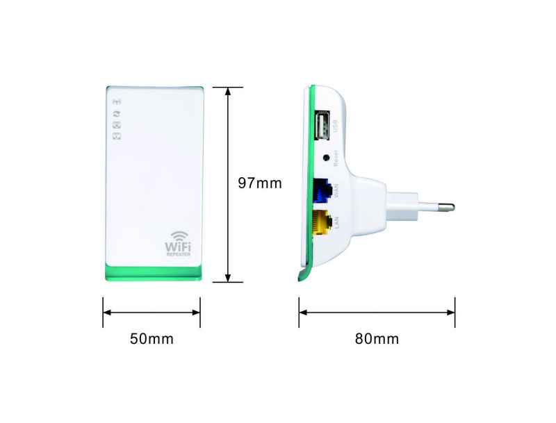 WiFi Repeater Router Wireless Extender Booster 802.11 N G