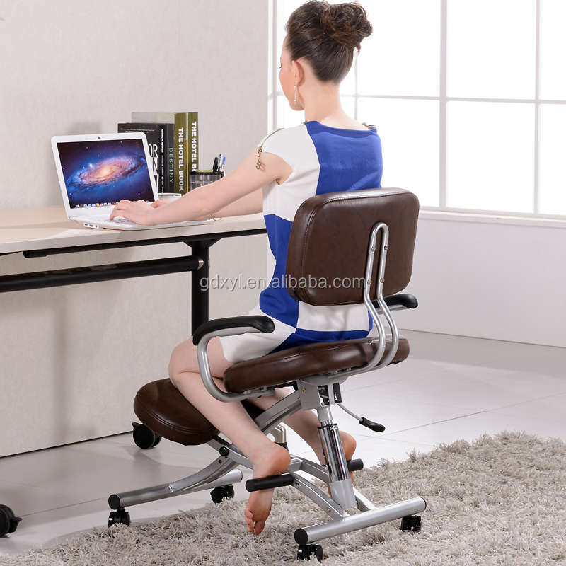 mesh back chairs for office chair slip covers adjustable ergonomic kneeling knee yoga posture sit - buy ...