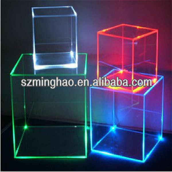 Plastic Lockable Storage Box  Acrylic Display Boxes With Lock And Led Light  Buy Plastic