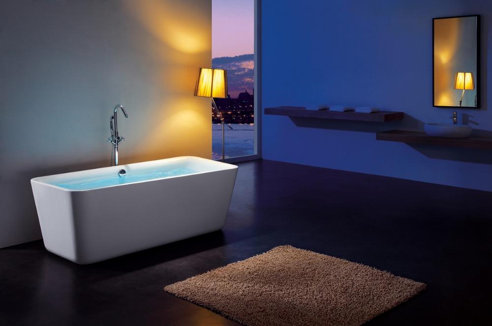 Italy Acrylic Freestanding BathtubAcrylic Simple Bathtub