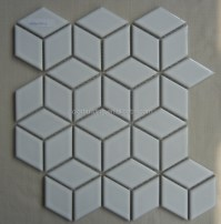 Diamond Shaped Ceramic Tile - Techieblogie.info