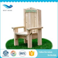 2018 Top Quality Nursery School Chair Wooden Toy Outdoor ...