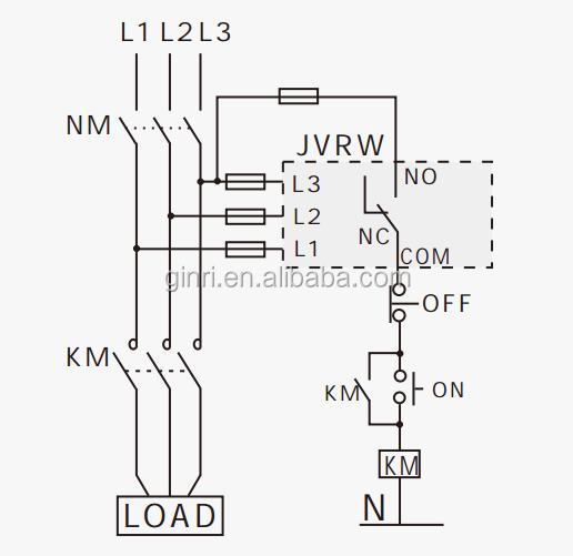 Adjustable Voltage Relay Jvr-380w Voltage Protective Din