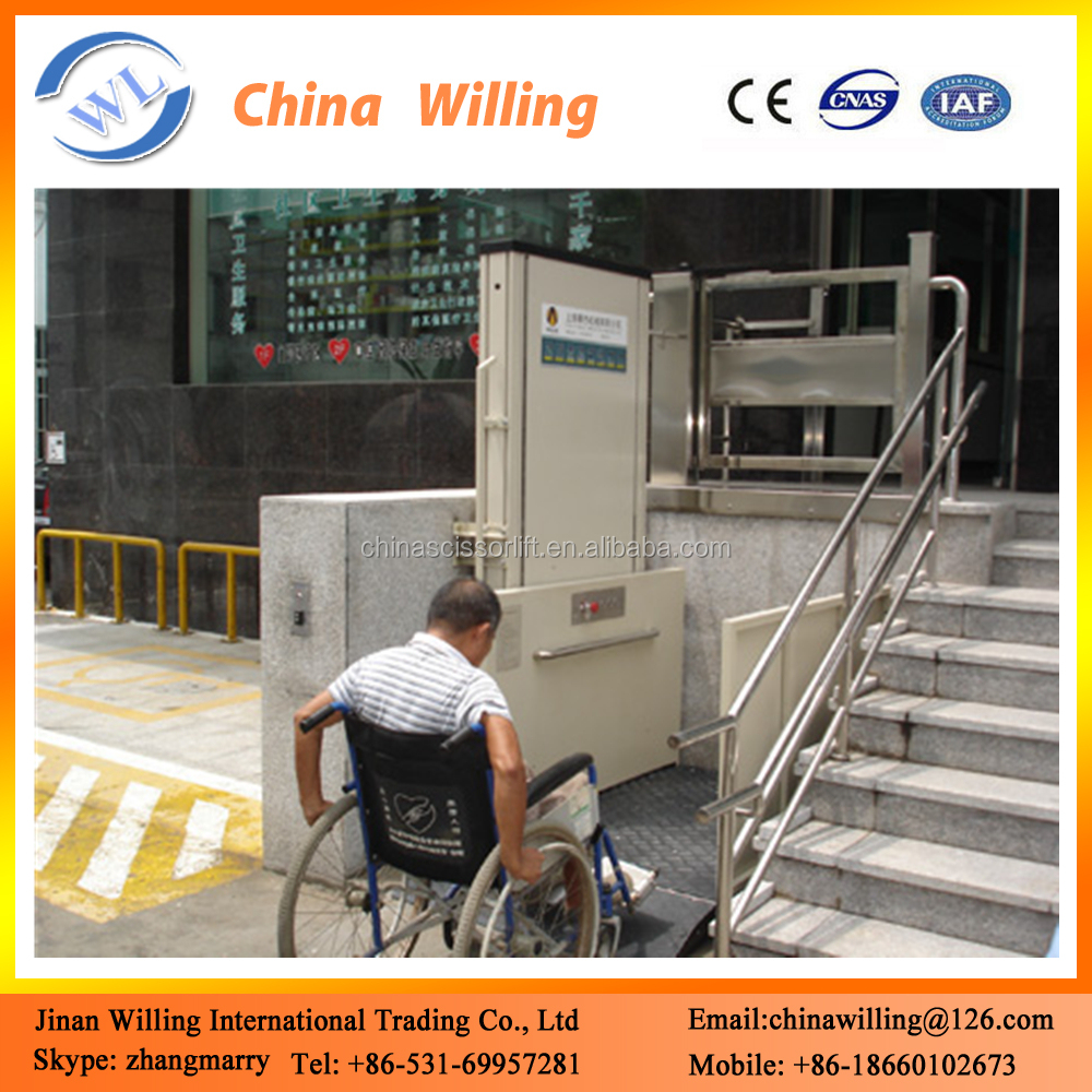 Outdoor Chair Lifts Vertical Handicapped People Chair Lift Outdoor Home Stair Lift China Buy Stair Lift China Chair Lifts People Hydraulic Chair Lift Product On