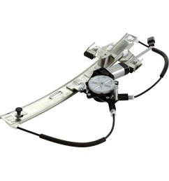rear right side power window regulator with motor for 2004 2005 2006 2007 2008 pontiac grand [ 1000 x 1000 Pixel ]