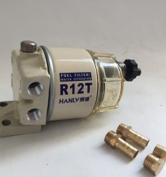 high quality fuel filter assembly for racor r13p r12t for marine parts [ 2448 x 2448 Pixel ]
