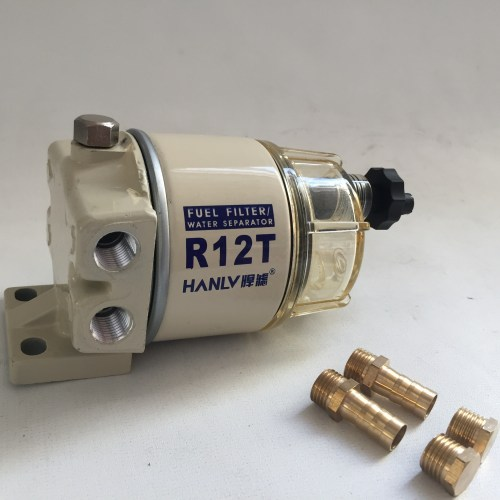 small resolution of high quality fuel filter assembly for racor r13p r12t for marine parts