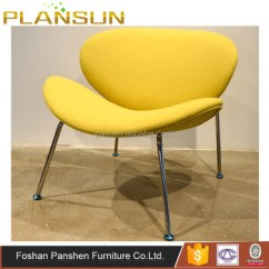 Orange Slice Chair Lime Green Covers Classic Replica Living Room Deep Seated By Pierre Paulin