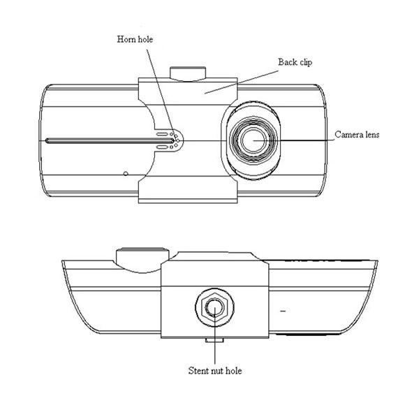 Best Hidden Cameras Dual Lens Car Camera With Gps For Cars