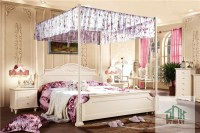 White Adult Bedroom Set Furniture Ha-808# Princess Style ...