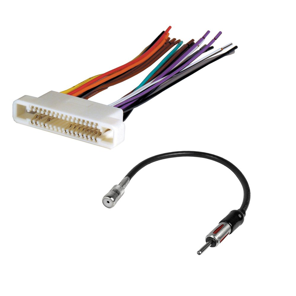 hight resolution of get quotations buick pontiac car stereo cd player wire harness radio antenna adapter aftermarket radio install