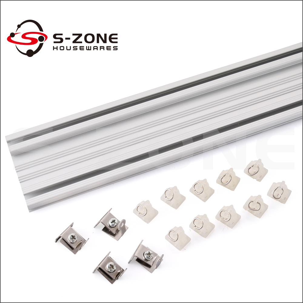 Oem Factory Supplier Double Sliding Curtain Track Channel Buy