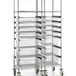 Kitchen Sliding Baskets Cabinets With Crown Molding Wire Shelving Trolley Basket - Buy ...