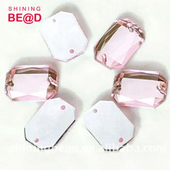 Diamante Wedding Invitation Embellishments Bead Flat Back Acrylic Stone