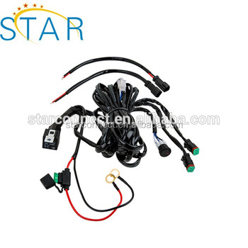 Manufacturer Car Light Wire Harness Automotive Wire
