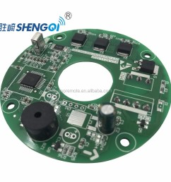electrical solar dc ceiling bldc fan driver card pcb circuit [ 1000 x 1000 Pixel ]