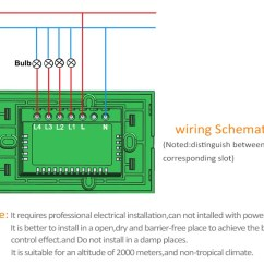 Wiring Diagram For 3 Gang 1 Way Light Switch Service Panel Grounding Xenon Wifi Smart Home Touch Control Glass Remote