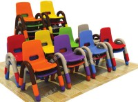 Bright Color Kindergarten Children Chair,Classroom ...
