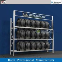 Warehouse Automobile Tire Display Rack - Buy Automobile ...