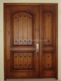 Double Wooden Main Door Design