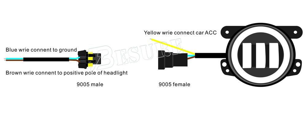 Cheap Car Accessories High Quality Dc 12v 4inch 30w Led