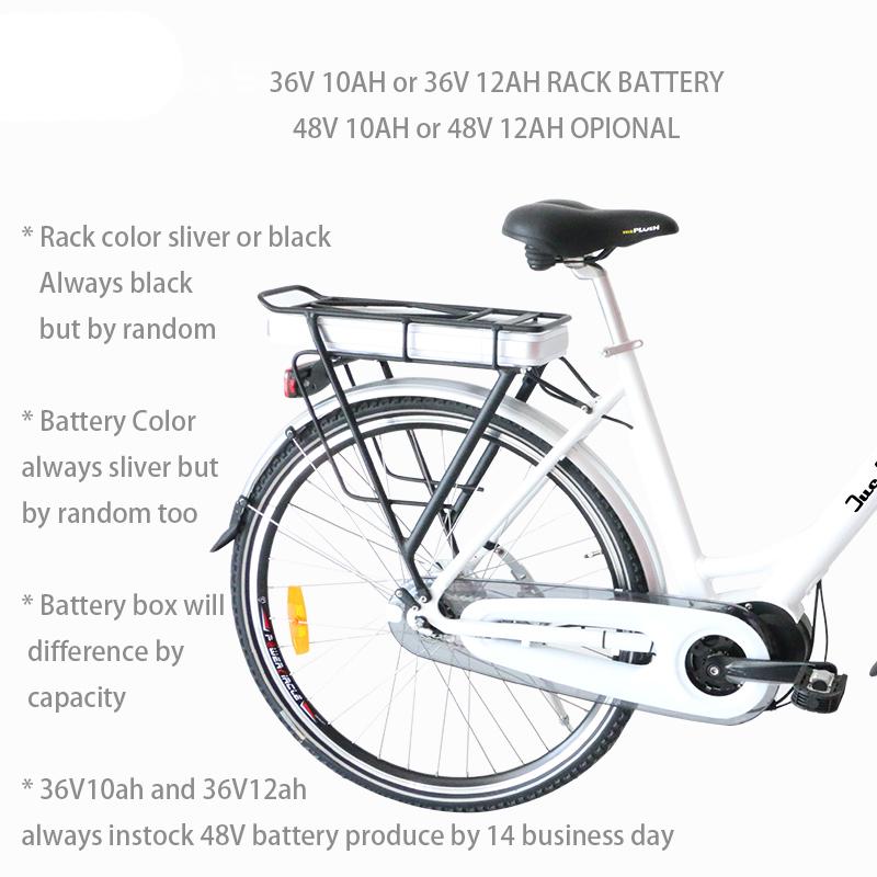 Electric Bike Conversion Kit 36v 250w 500w Electric Bike