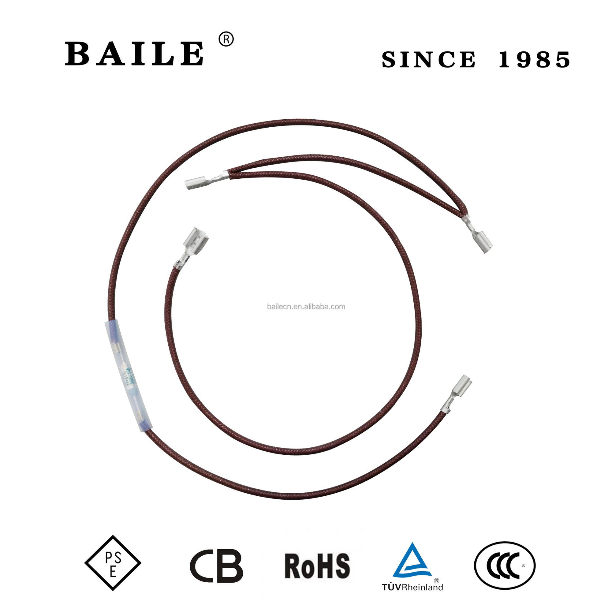 hight resolution of baile ry aupo thermal fuse link 10a 250v 141c
