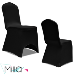 Black Banquet Chair Covers For Sale Replacement Casters 1 Buy Stretch Cover