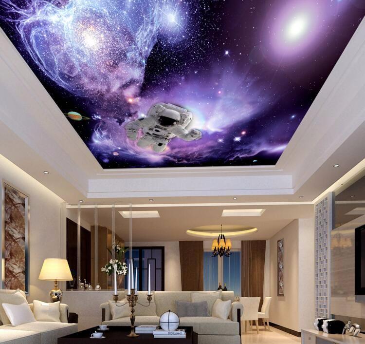 3d Beach Wallpaper For Walls Purple Background Salon Spa Distributors Home Decor 3d
