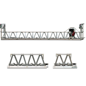 Vibrator Truss Screed Beton Screed Mesin Screed Beton