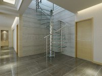 Interior Stainless Steel Spiral Staircase/spiral Stairs ...