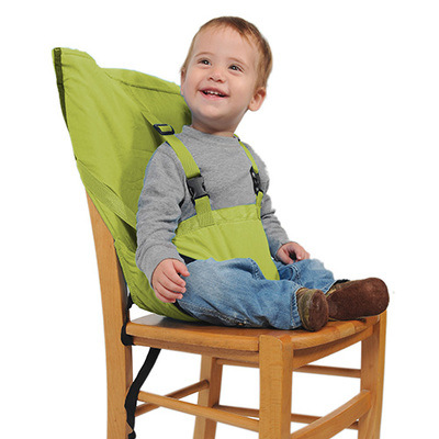 portable baby high chair hook on with shade canopy infant seat safety belt kid feeding harness bag