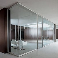 Factory Tempered Glass Office Partition Interior Glass ...