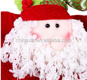 crochet christmas chair covers computer without arms fleece cover suppliers and manufacturers at alibaba com