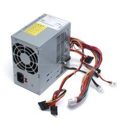 atx0350p5wc for dell precision t1500 350 watt power supply h056n [ 1000 x 888 Pixel ]