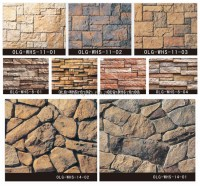 Man-made Natural Stone Like Outside Wall Cladding Home ...
