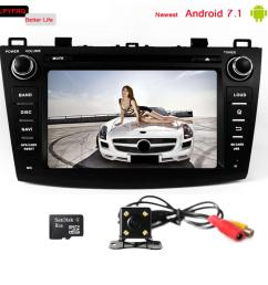 8 inch touch screen car gps navi radio for mazda 3 android 7 1 built in 3 4g wifi mazda 3 car video interface [ 1000 x 1000 Pixel ]