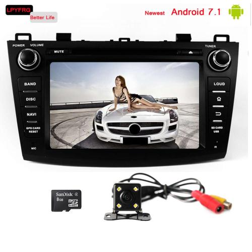 small resolution of 8 inch touch screen car gps navi radio for mazda 3 android 7 1 built in 3 4g wifi mazda 3 car video interface