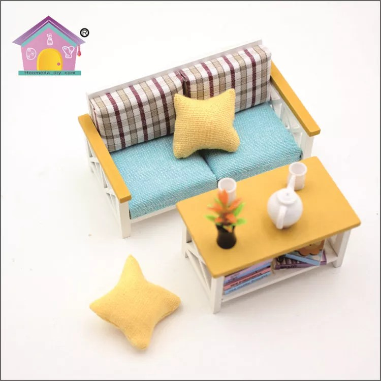 18 doll sofa diy simple wooden set online 1 scale wholesale house furniture miniature handmade