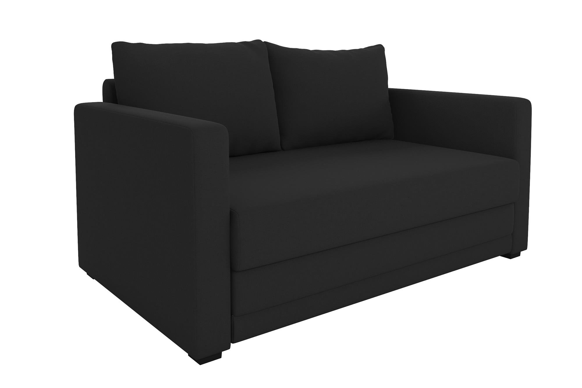fufsack sofa sleeper lounge chair la z boy beds reviews cheap black find deals on line at get quotations modern design with wide track arms and encased coil