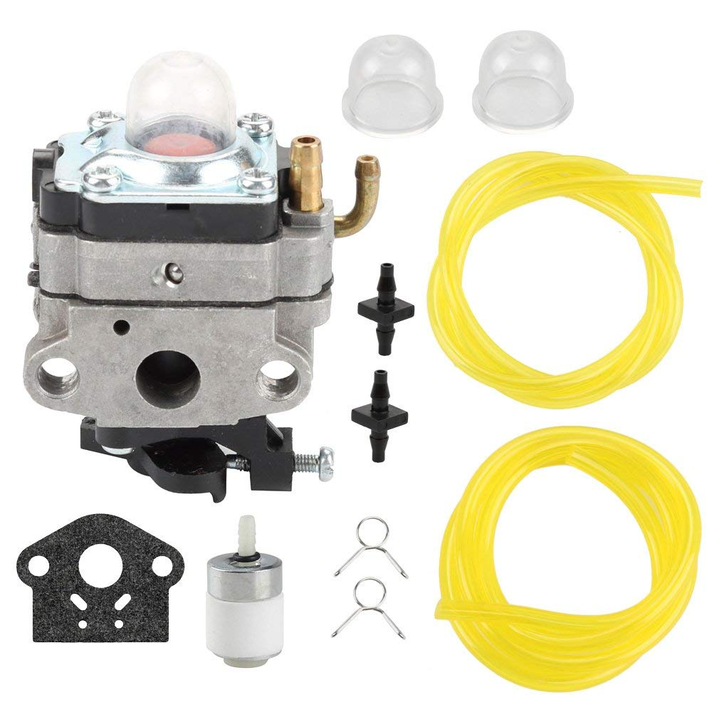 hight resolution of get quotations buckbock 753 1225 carburetor with fuel filter line for ryobi 650r 825r 825ra 875r 890