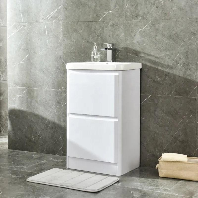 Slimline Uk Bathroom Furniture Gloss White Wash Basin With Vanity Unit Buy Wash Basin With Vanity Unit Slimline Vanity Units Uk Bathroom Furniture Product On Alibaba Com