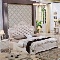 Pinkish/white Painted French Style Bedroom Sets And ...