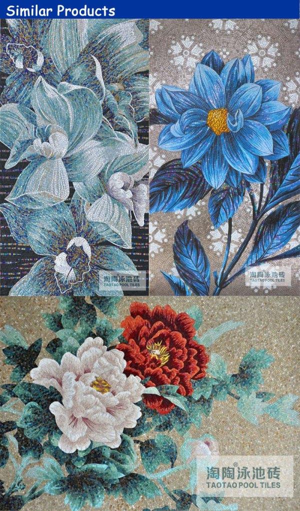 Flower Mosaic Patterns Designs