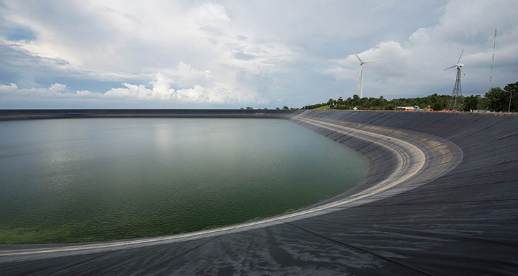 Earthen Pond Construction