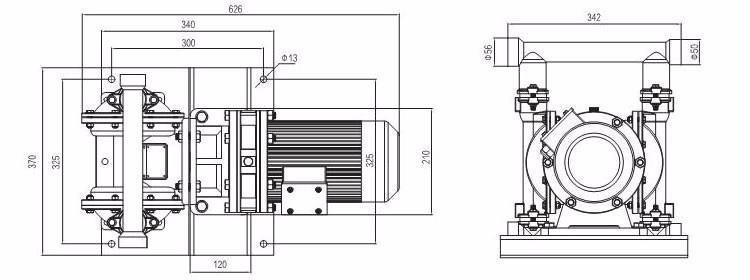 Food Grade Electric Diaphragm Pump,Sanitary Eodd Pump