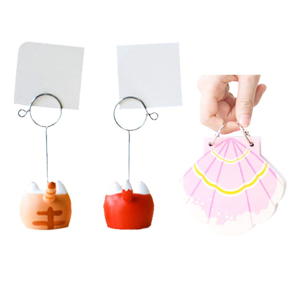 medium resolution of get quotations kargou memo clip holder note clip with notebook for photo picture memo card