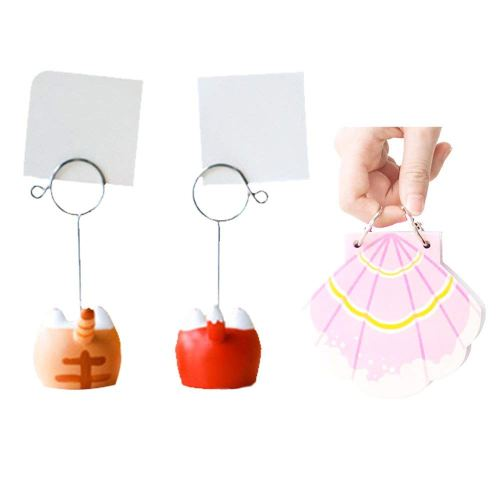 small resolution of get quotations kargou memo clip holder note clip with notebook for photo picture memo card